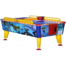 Airhockey Outdoor Muntproever Buffalo SHARK 8 FT