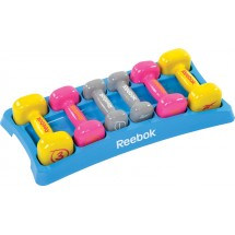 Set dumbbells Reebok Vinyl